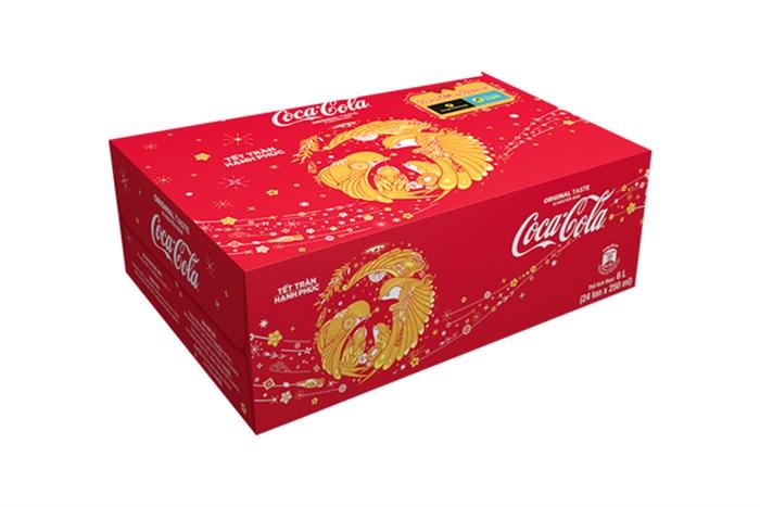 Nước ngọt Coca Cola thùng 24 lon 250ml