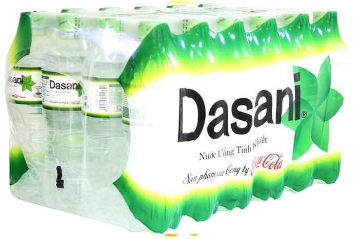 Nước tinh khiết Dasani thùng 24 chai 500ml