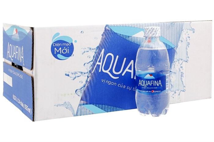 Nước tinh khiết Aquafina thùng 24 chai 355ml